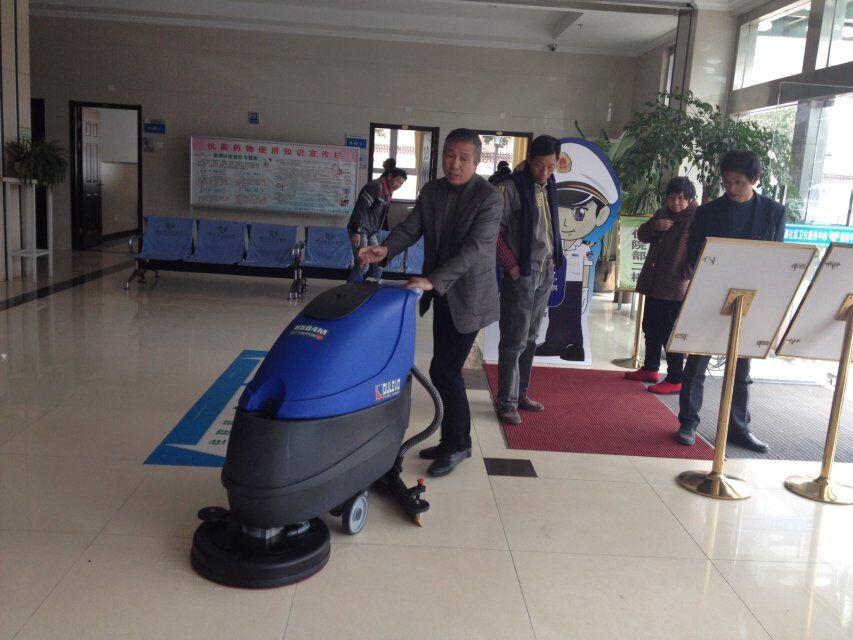 慈溪市横河中心卫生院 dulevo(道路宝) H504手推式洗地机